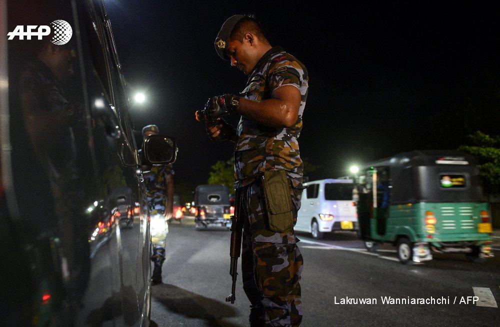 AFP news agency's photo on sri lanka