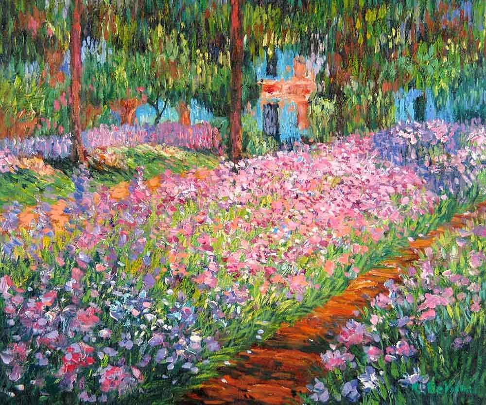 Paname Paris On Twitter Claude Monet Le Jardin De Giverny 1900