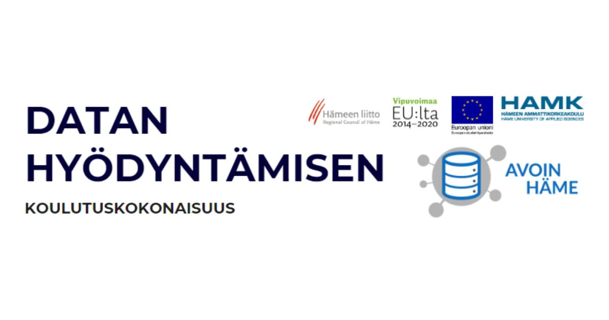 Tervetuloa Kanta-Hämeen yrittäjille suunnattuun Datan hyödyntämisen koulutukseen! Ilmoittautumislinkki https://t.co/VzElEE728C