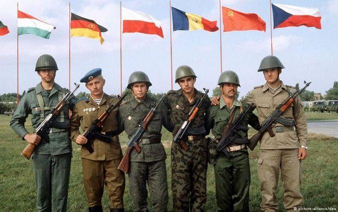 RT @ussrlife: 14 мая 1955 года в противовес НАТО была создана Организация Варшавского договора https://t.co/z2wWD31M4A