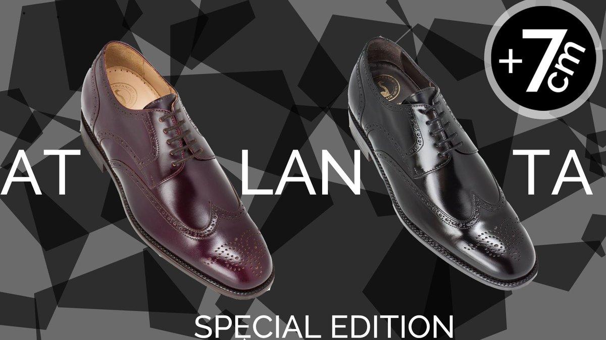 8e348642 ¡Nuestros zapatos ATLANTA! Si te gustan los zapatos con troquelados este es  tu momento, además te proporcionan 7cm más de altura. #zapatosconalza # masaltos ...