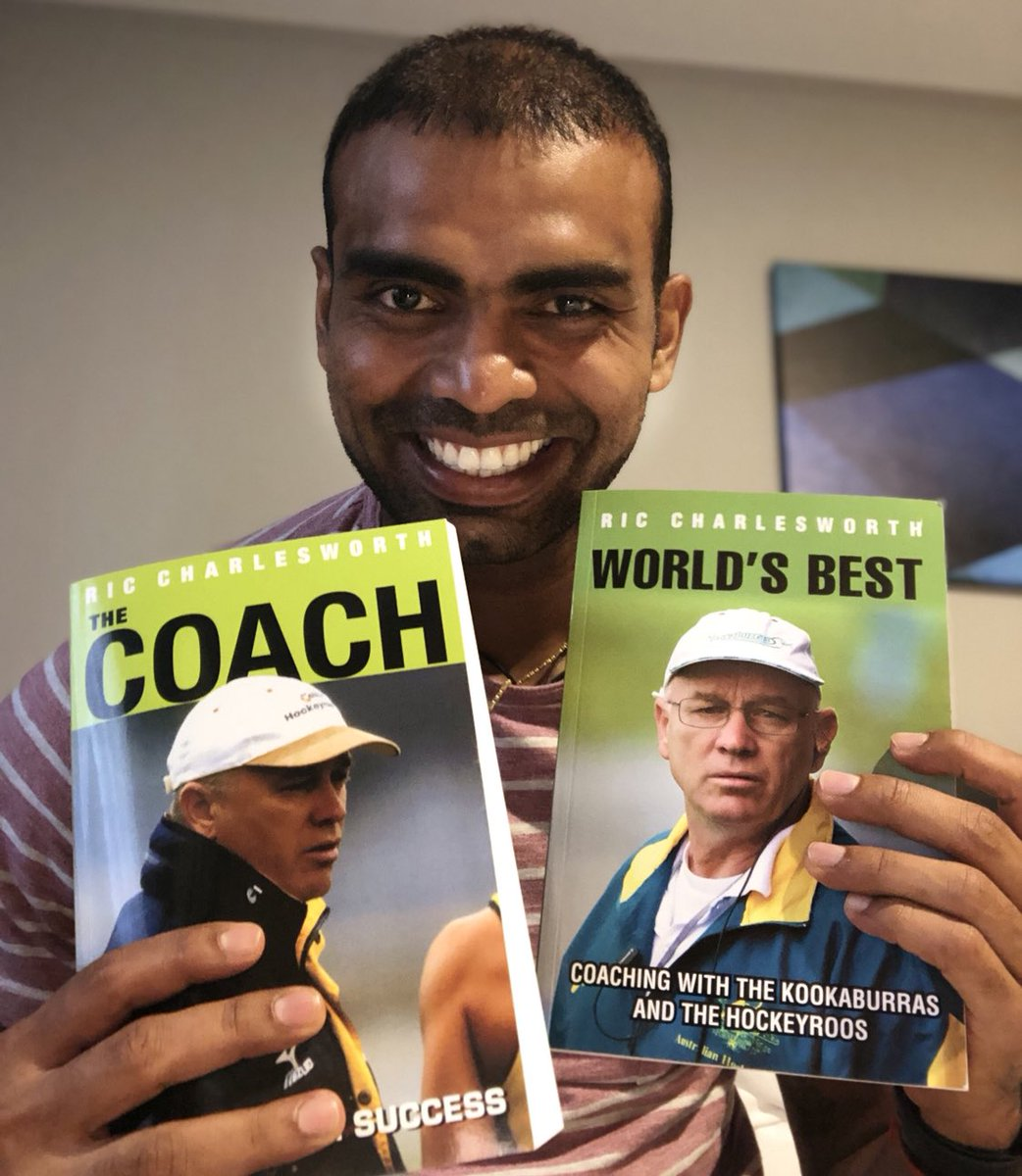The wait is over ... received a copy from the legendary coach , @riccharlesworth thank  you very much Coach#riccharlesworth , It's going to be a diamond in my collection .... @iyengarshrikant #coach #worldsbest #australia #hockey #family #perth   #hockeylife