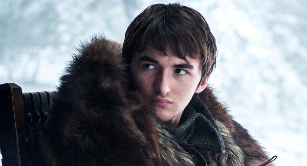 BREAKING:  Bran Stark is now the -500 favorite (83.33% implied probability) to rule Westeros at the end of #GameofThrones  Updated odds:  Bran -500 Sansa +400 Tyrion +750 Jon (Aegon) +800 Daenerys +1500 Arya +3000 Gendry +3000 Jon & Daenerys' baby +3300 Samwell +5000