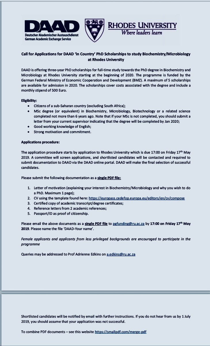 Cover Letter For Daad Scholarship - Cover Letter Example