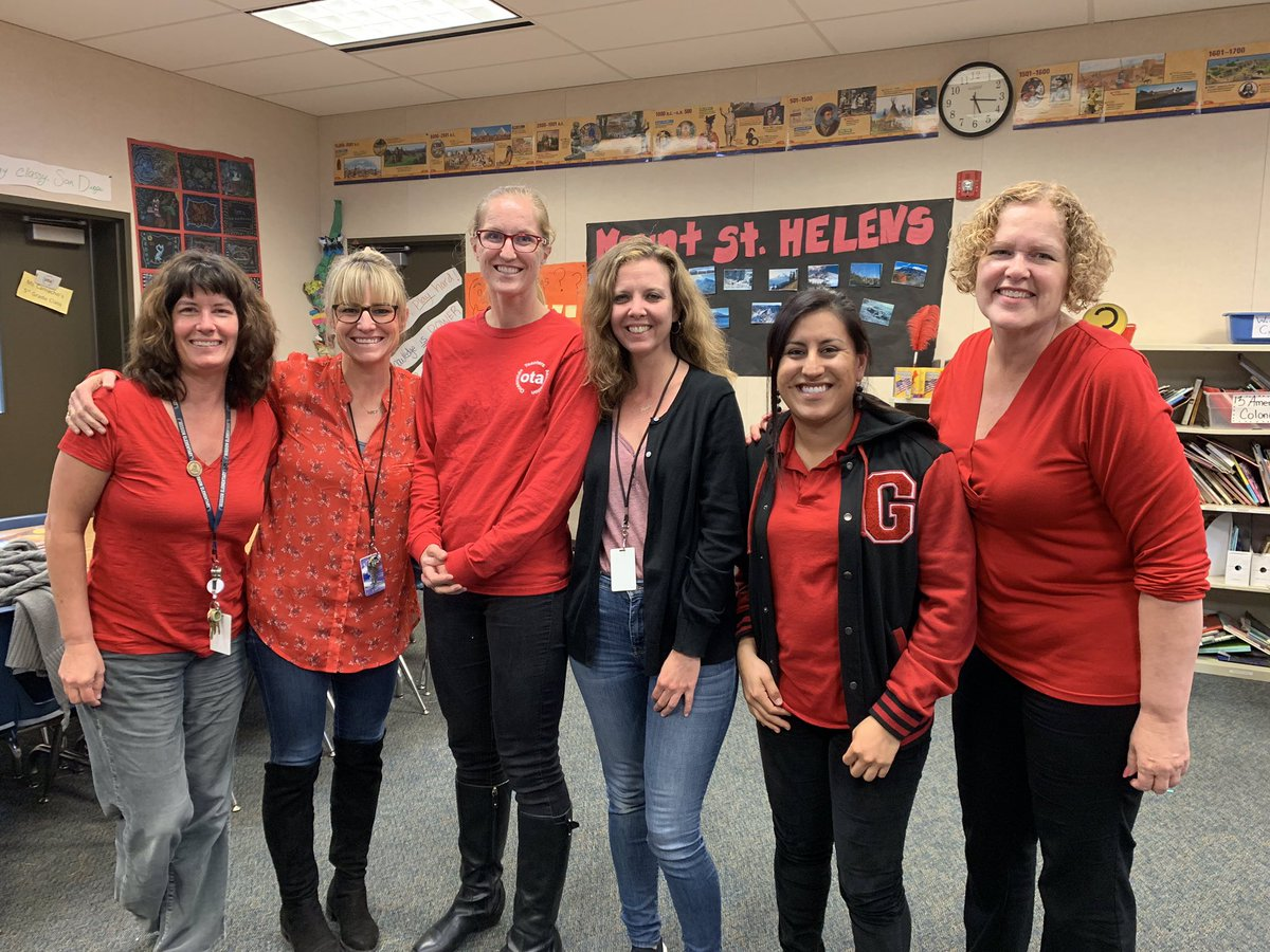 Happy Tuesday! Day of OTA solidarity. Wearing RED for Public Education. OUSD Board meeting tonight at Chavez Middle School. LCAP proposal, 3rd Interim Budget Report, Preschool presentation... #REDforED #TIMEisNOW #OTAStrong<br>http://pic.twitter.com/hlSF7EhHcL