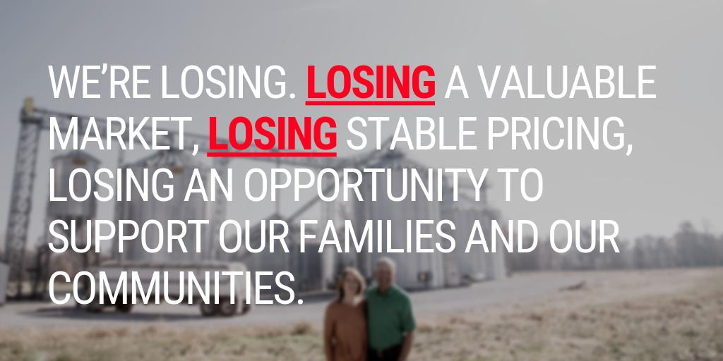 U.S. soybean farmers remain frustrated by the lack of progress between the U.S. and China in resolving the trade war, which continues to immediately threaten soy prices and, if not resolved, farmers' ability to stay in business. #TradeNotTariffs #RescindtheTariffs #Soybeans