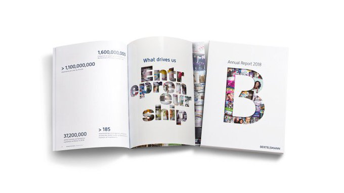 85e72b46 RT @Bertelsmann_com: Our new Annual Report highlights #creativity and  #entrepreneurship • New Annual Report now available • The year's mott…