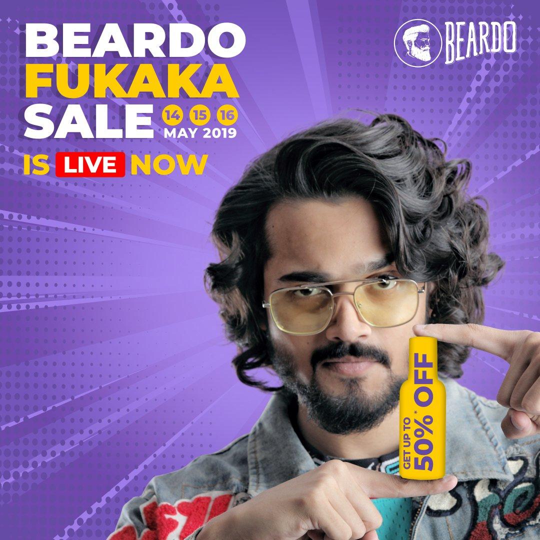 The Beardo Fukaka Sale has finally arrived 👉🏻 http://bit.ly/2Yp8NhA  #Fukaka