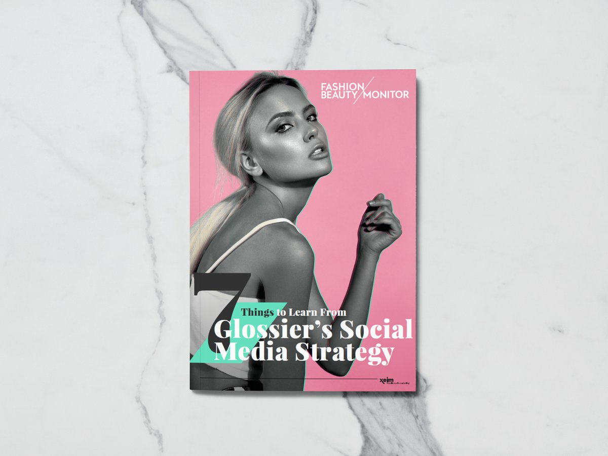 We're pleased to present our brand new whitepaper '7 Things to Learn From @glossier's Social Media Strategy'. Download it here http://ow.ly/I8w050uaSJv