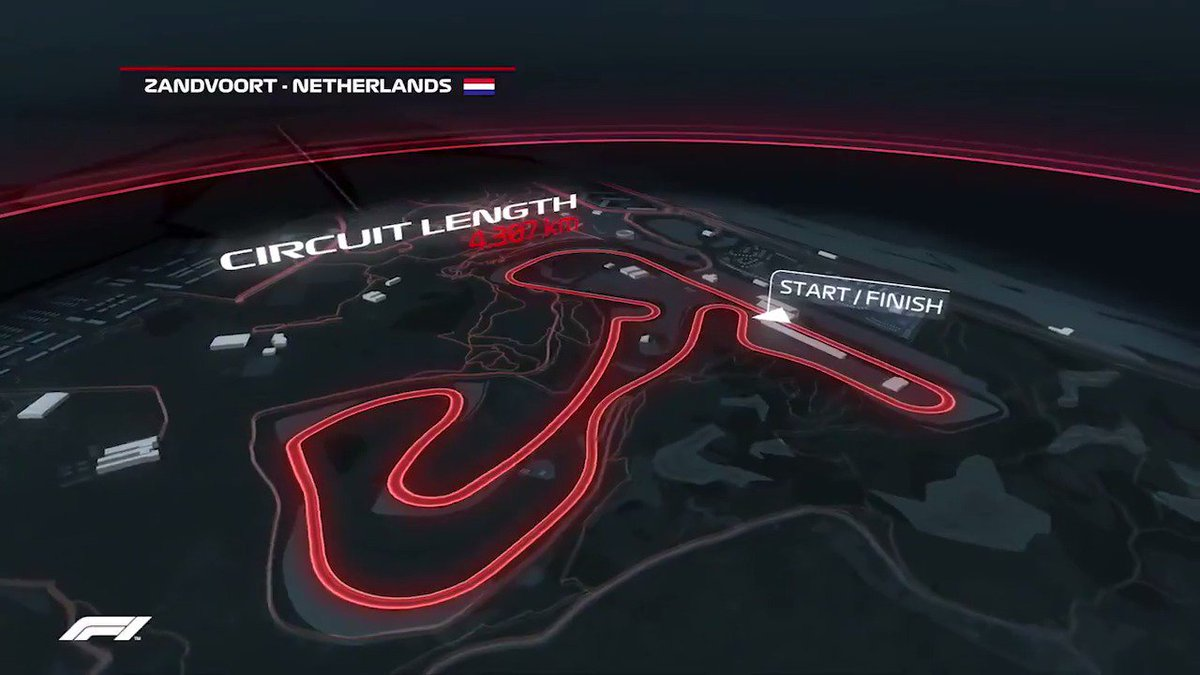 Take a l👀k at the Zandvoort Circuit   @CPZtweets #DutchGP 🇳🇱 #F1