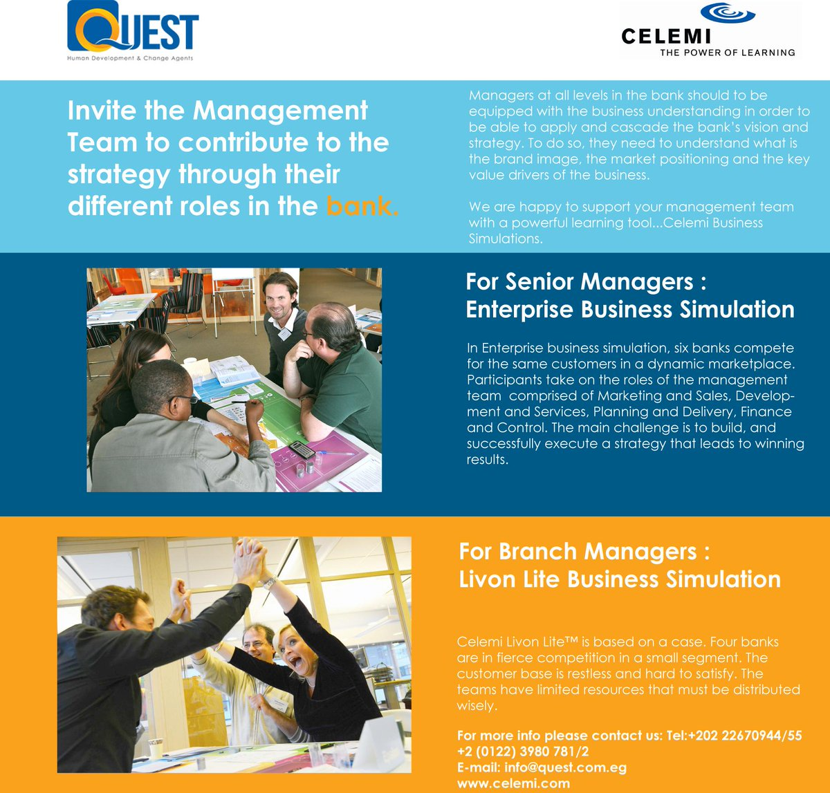 Quest l Human Development & Change Agents - @QuestTrainingEG Twitter