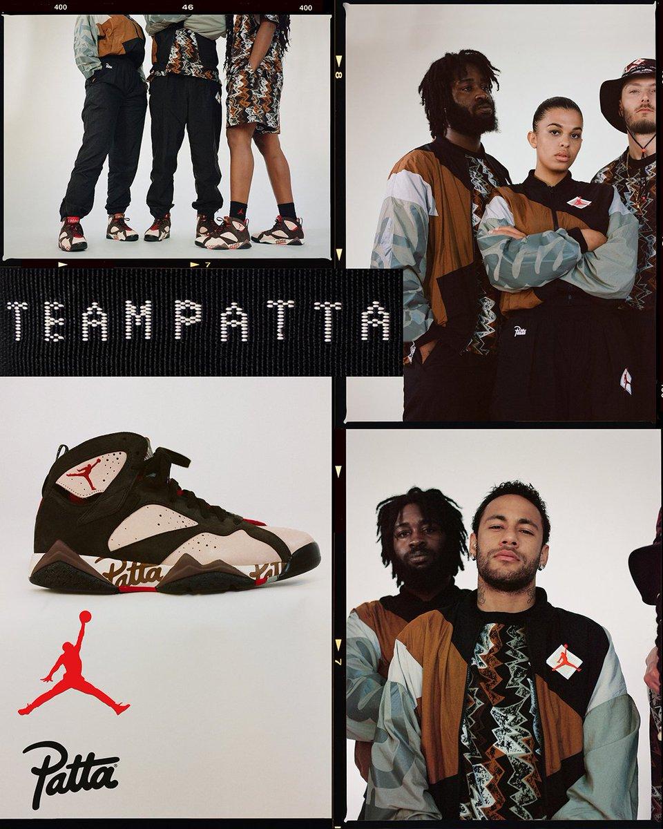 f7bf1cf6bf Patta представили лукбук коллаборации с Air Jordan и объявил дату её релиза  В ней принял участие