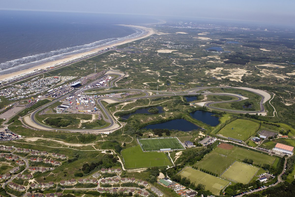 Sand 🏖 Surf 🌊 Speed 🚀  >> https://f1.com/Zandvoort_Circuit…  #DutchGP 🇳🇱 #F1