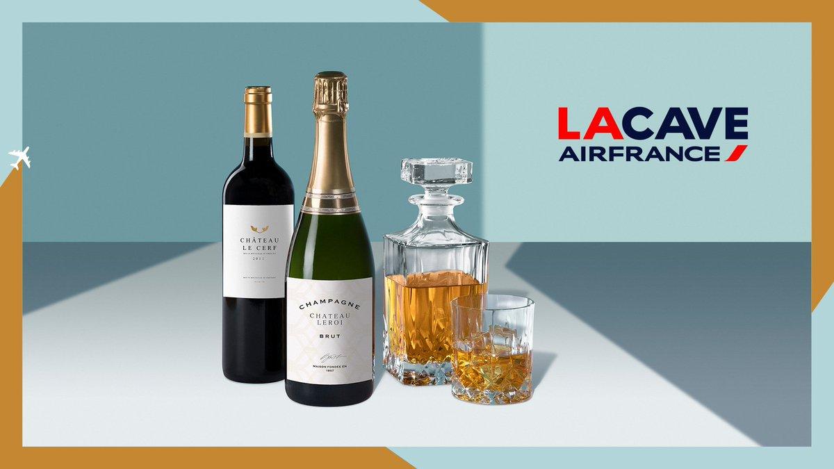 🍷#AirFrance et http://ventealapropriete.com s'associent pour vous faire découvrir #LaCaveAirFrance : retrouvez chez vous la richesse des vignobles 🇫🇷 à travers une sélection signée @BassoSommelier de vins, champagnes et spiritueux servis à bord. Plus d'info 👉http://LaCave.airfrance.com