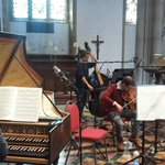 And we're off again! Next up. Brandenburg 5. #Bach #recording