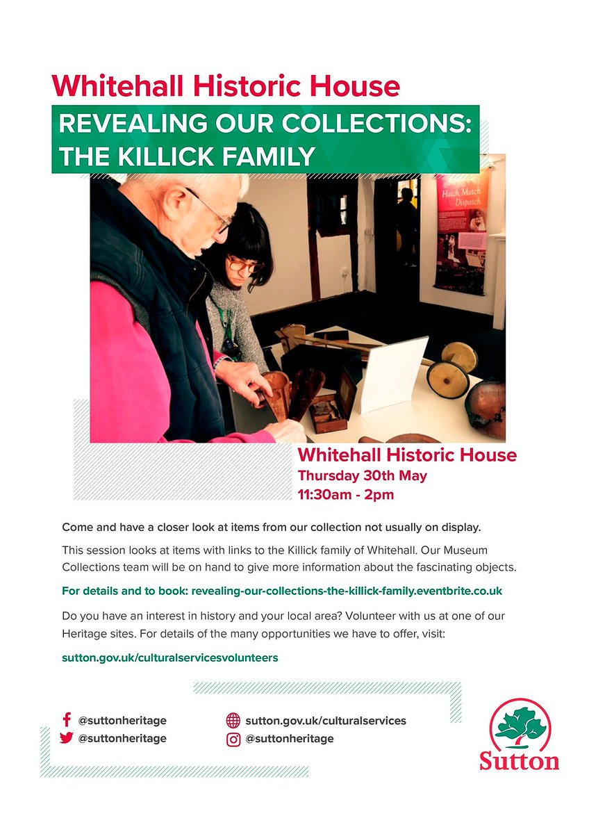 c41f0f97f7f7f7 This month- a closer look into the life and times of the Killick Family.  Register: http://socsi.in/PQiSH pic.twitter.com/97OmAPNVo4