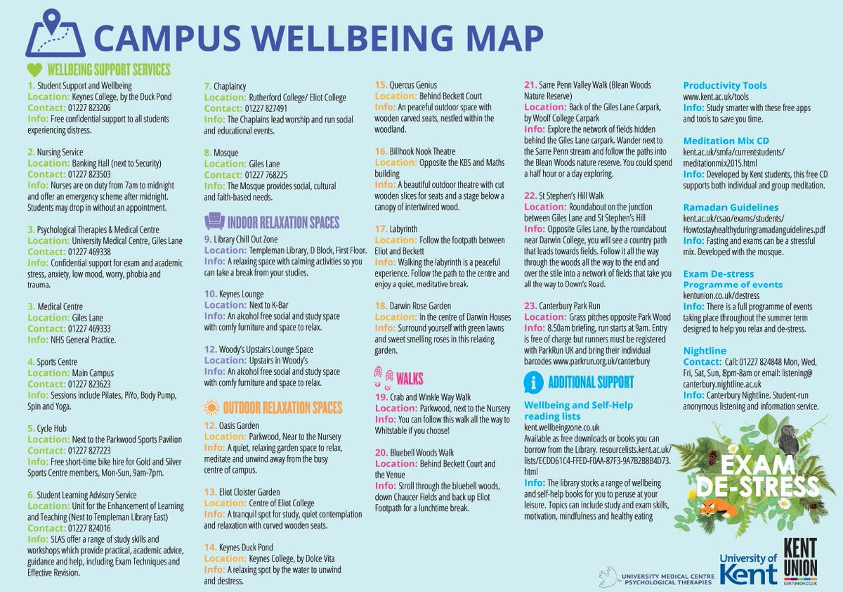 Student Support and Wellbeing, University of Kent على تويتر