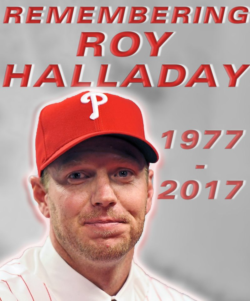 Happy Birthday Roy Halladay. Gone but not forgotten.