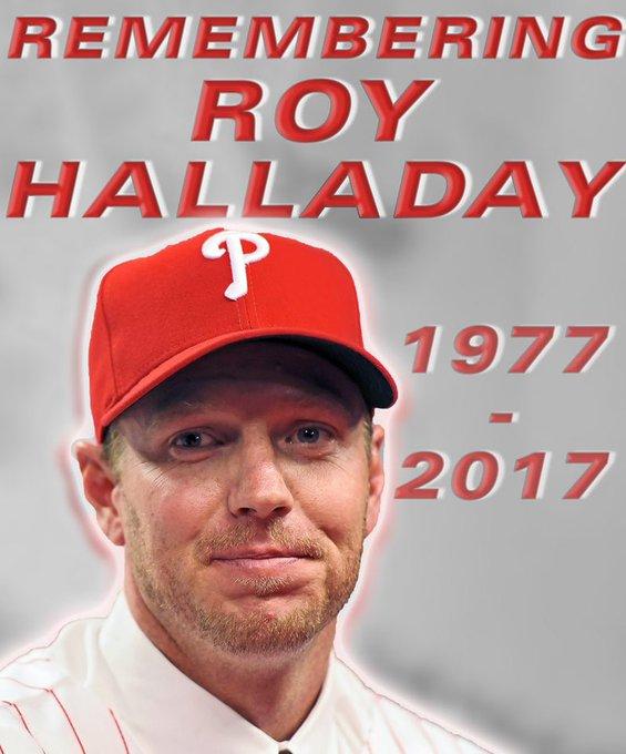 Happy Birthday Roy Halladay. Gone but not forgotten.