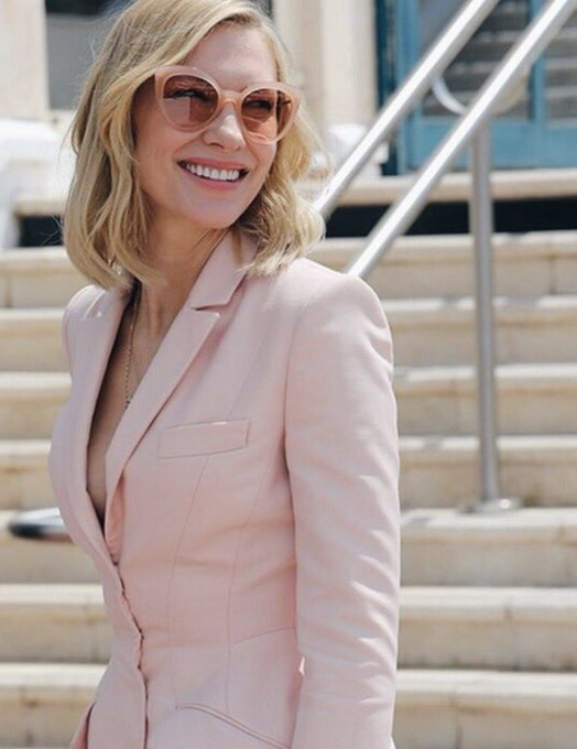 Happy birthday to Cate Blanchett, the talented actress and amazing woman who invented wearing suits!