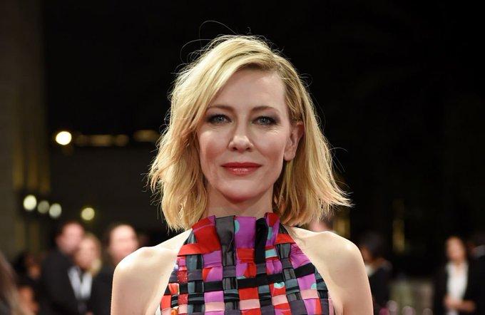 Happy birthday Cate Blanchett  wonderful actress!!