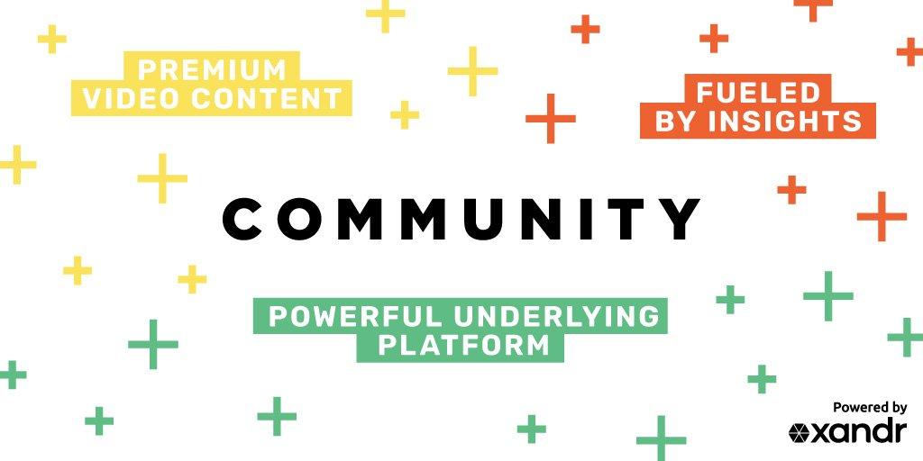 Xandr Creates Community. xandr.com/news/xandr-cre…