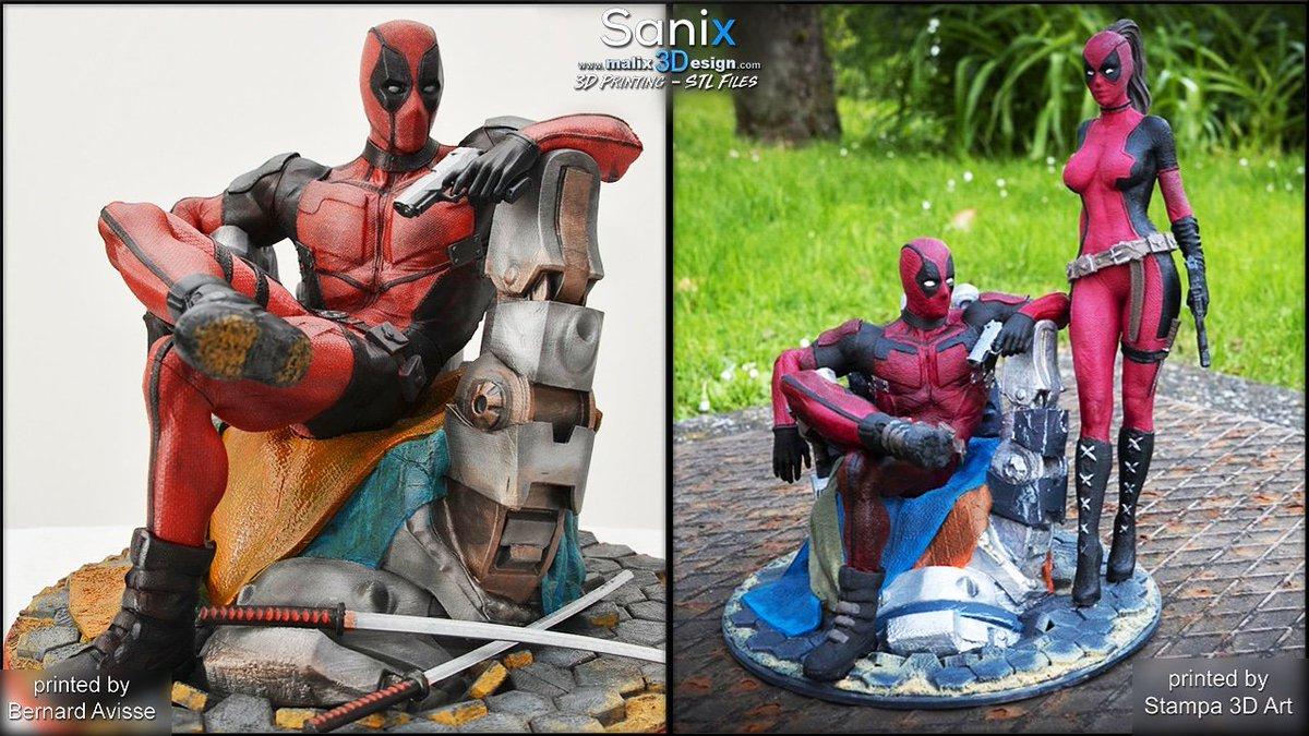 Sanix On Twitter Deadpool Amazing 3d Printing And Painting Work By Stampa 3d Art And Bernard Avisse Malix3design Model Deadpool 3dprinting 3dmodeling 3dprinter 3dprinted Painting Https T Co Vh64zwtrrp Https T Co Rkc3vopzys