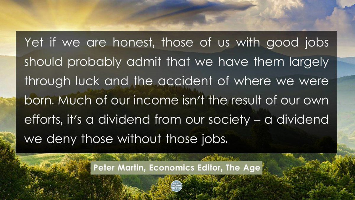 Basic Income Quotes's photo on Rask