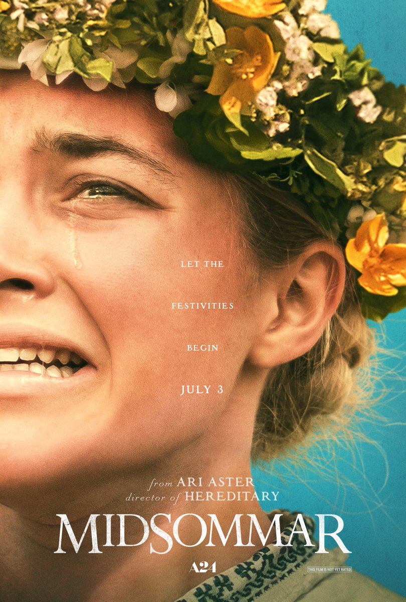 RT @1428_Elm: Prowling #Poster of the Day: Ari Aster's #MIDSOMMAR (2019) #AriAster @A24 https://t.co/yzcPy8Syfk