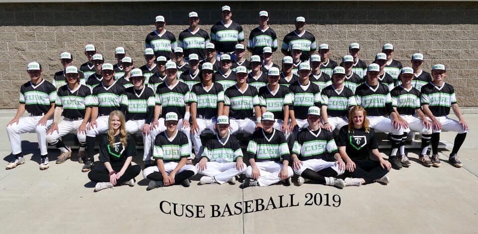 Good luck to our SHS Baseball Team today!!! They will play at Kearns High at 4:00. They had a huge win over Copper Hills yesterday 11-0 way to go Cuse @SHS_Titan_Cheer @cuseboyssoccer @shsDL4L @SyracuseStrong @CuseCounselors @Cuse_Titansbb