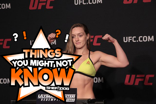 5 Things You Might Not Know About Aspen Ladd https://t.co/neHK88Xxwl via @GuyPortman #UFCRochester https://t.co/bJBVHFmwt1