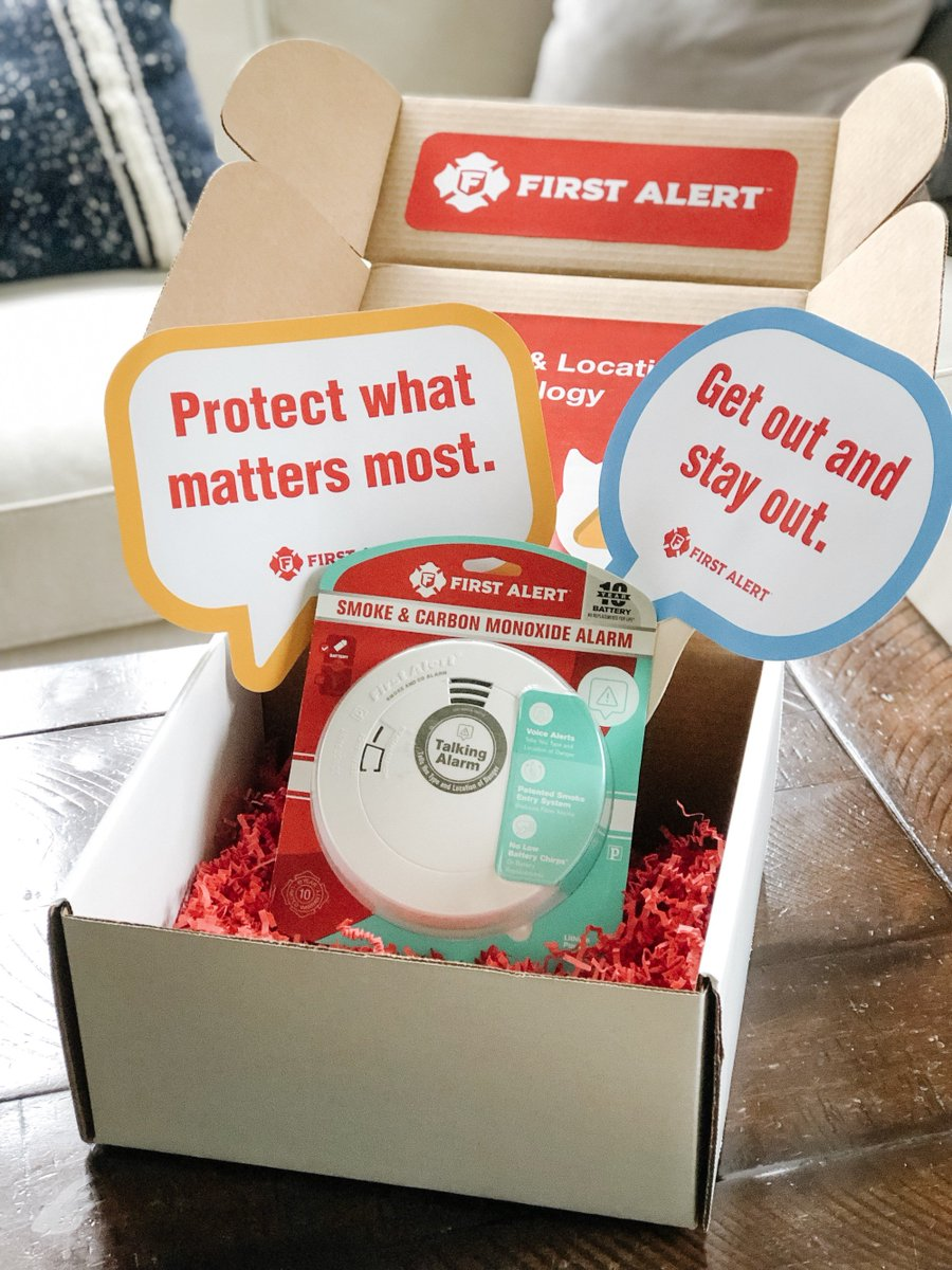 #ad It is so important to have fire safety plans and alarms! You can find out from  @kozyandco how she upgraded her smoke detectors w/ @FirstAlert 10-Year Sealed Battery Alarms.They have location/voice Technology!  See more here: https://clvr.li/KozyandCo  #voiceandlocation