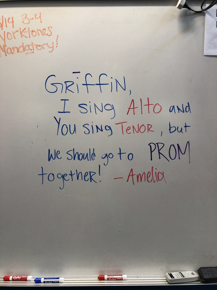 We had a PROMposal today in class!! Have fun, Amelia and Griffin!! 🎶 <a target='_blank' href='https://t.co/ugSXlXFURi'>https://t.co/ugSXlXFURi</a>