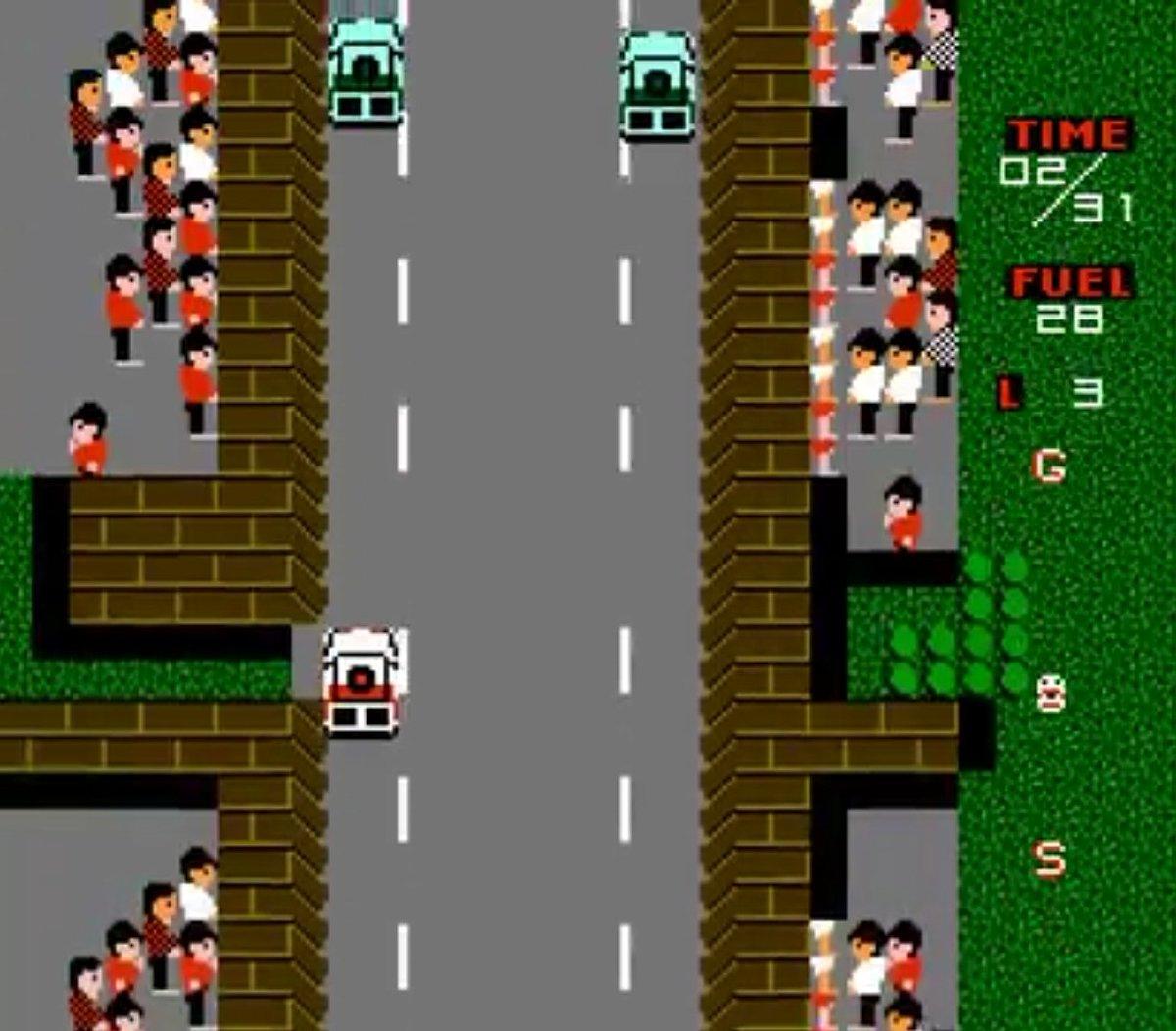 GG @R0man_P0  C'est Paris dakar rally special sur NES . Bien vu  Par contre je vous ai induit involontairement en erreur en disant NES alors que le jeu n'a pas quitté le Japon <br>http://pic.twitter.com/WWAW87AQf9