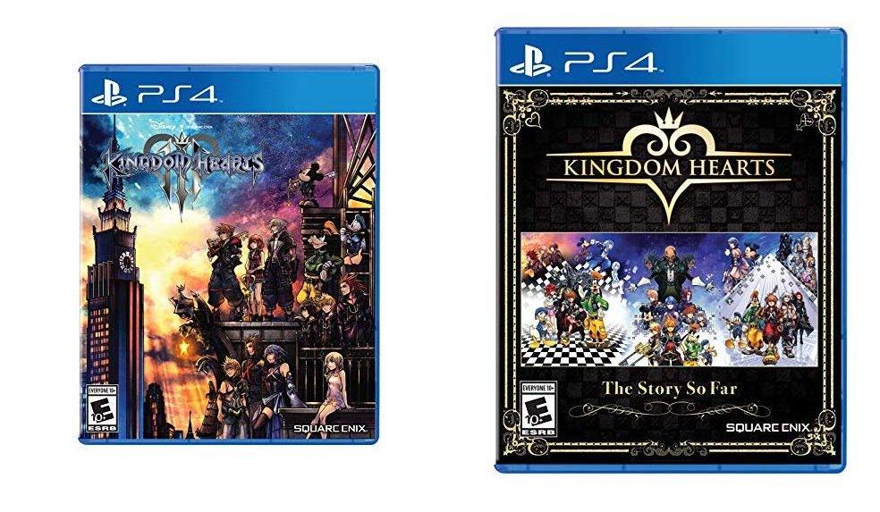 Ps4 kingdom hearts the story so far