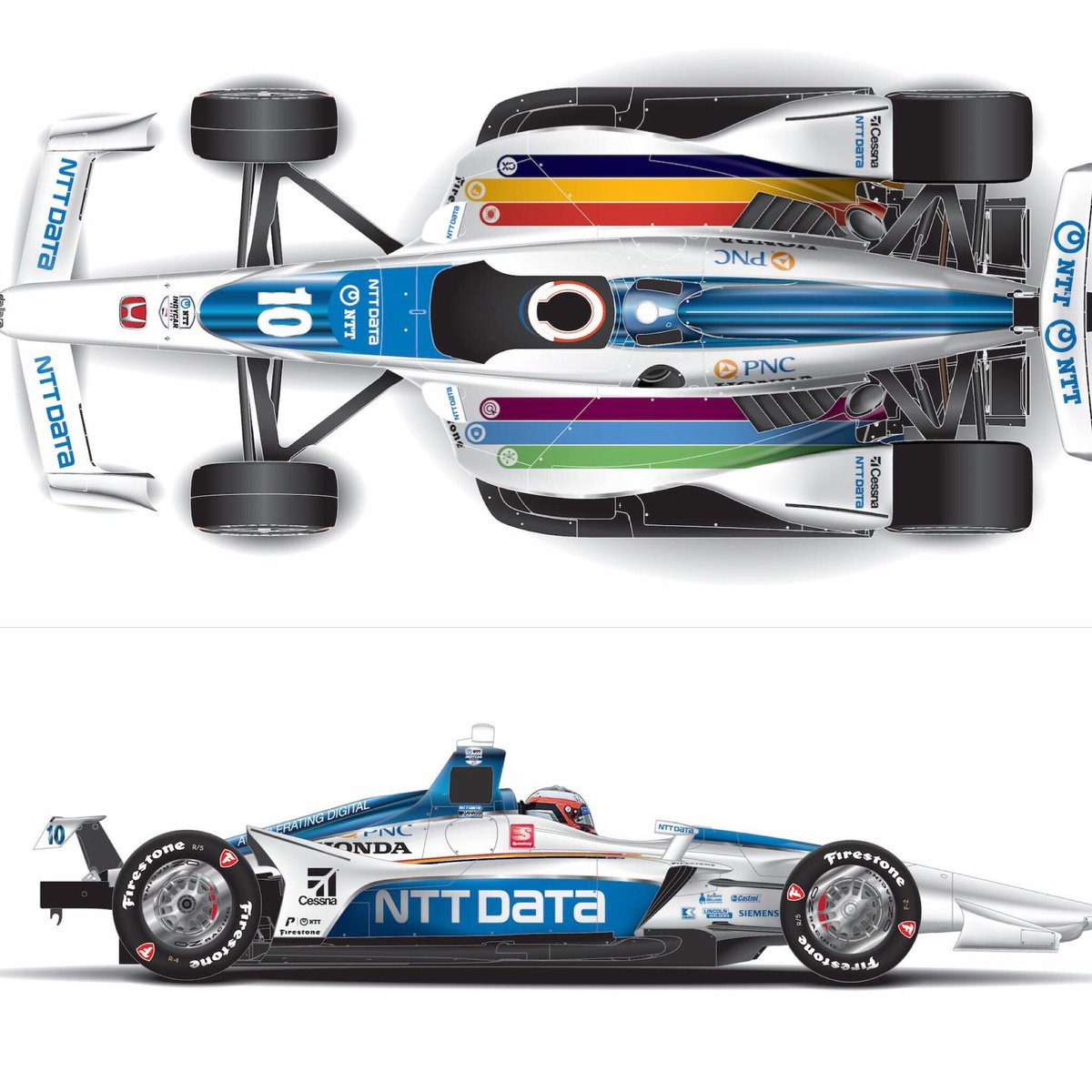 What do you think of @FRosenqvist's #Indy500 livery? #MustBeMay #ThisIsMay