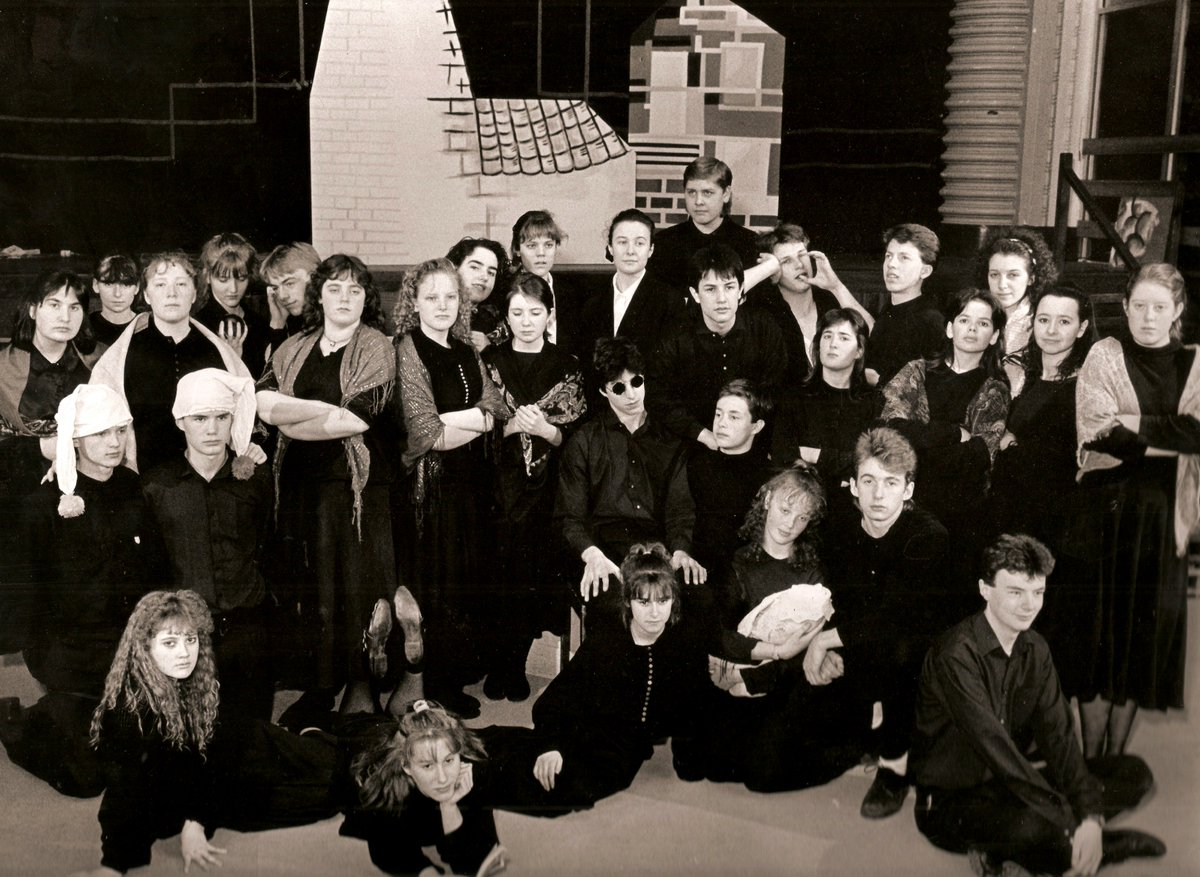 Under Milk Wood Anniversary Today >> Bishop Gore School On Twitter Cast Photo Of Our 1989 Production Of