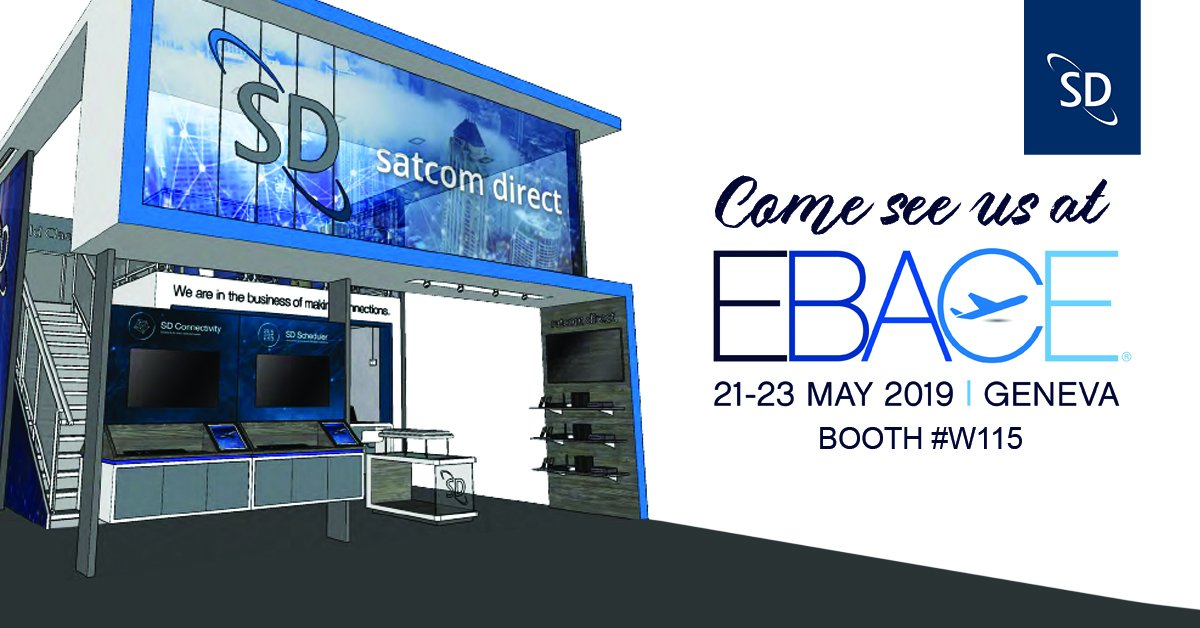 EBACE is next week! Visit our booth to learn about SD Xperience and how our cybersecurity solutions keep your data safe while flying. See you next week in Geneva! #EBACE19 #Geneva #bizav #businessaviation