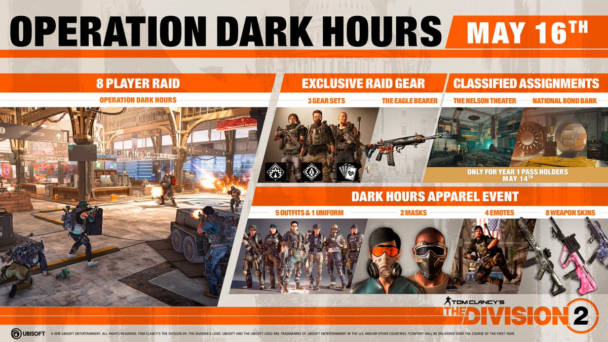 The Division 2 - Title Update 3: Operation Dark Hours