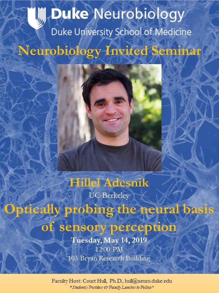 Duke Neurobiology (@DukeNeuro) | Twitter