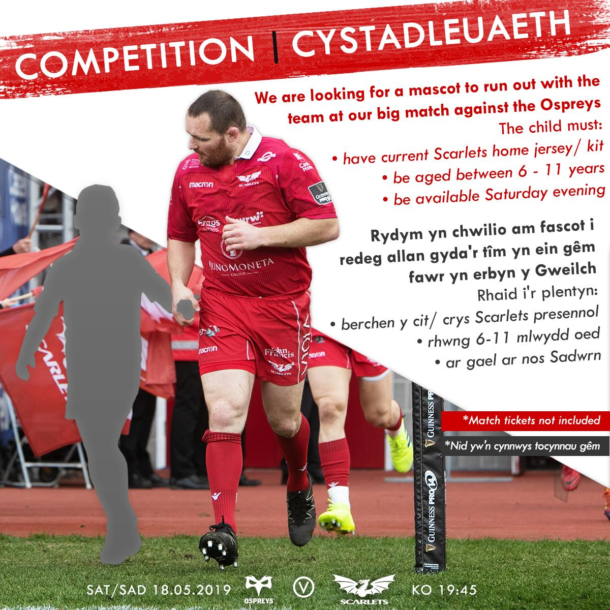 Scarlets Rugby's photo on Gael