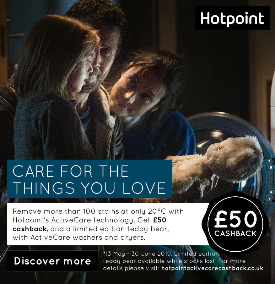 test Twitter Media - Hotpoint is aiming to encourage consumers to wash their clothes at a lower temperature with their innovative ActiveCare technology. Read the full story on our blog, available here: https://t.co/aa7abJggSH https://t.co/e5cGZOmi1D