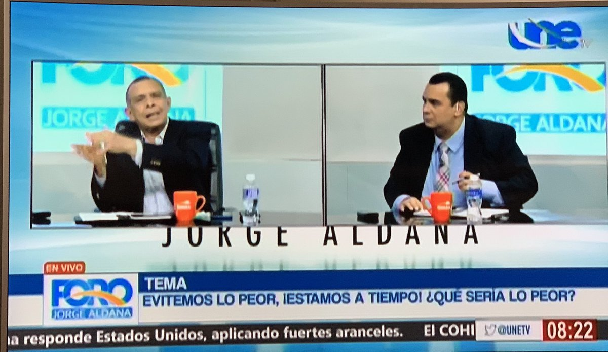 UNE TV on Twitter: