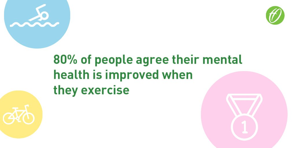 We understand the importance of mental health awareness in the workplace, and how physical activity and sport can help with depression, anxiety and stress #MentalHealthAwarenessWeek