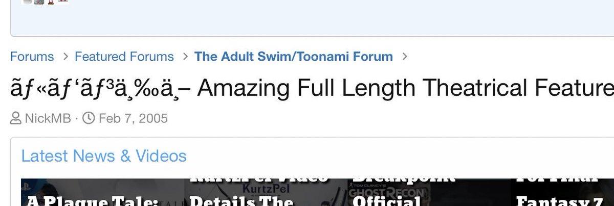 #ルパン三ä¸[ah, my favorite movie] https://animesuperhero.com/forums/threads/%C3%A3%C6%92%C2%AB%C3%A3%C6%92%E2%80%98%C3%A3%C6%92%C2%B3%C3%A4%C2%B8%E2%80%B0%C3%A4%C2%B8%E2%80%93-amazing-full-length-theatrical-feature.3812061/…  [okay it's #LupinThe3rd]