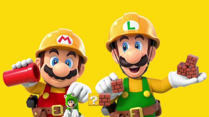 Mario Maker 2 Photo
