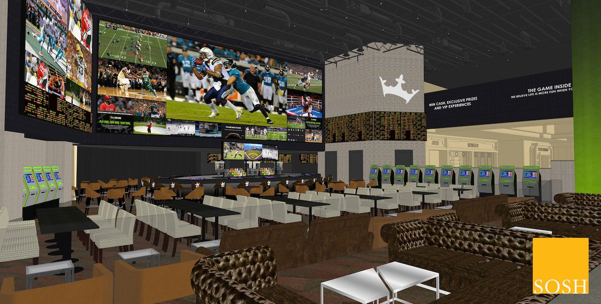 DraftKings Sportsbook officially under construction at del Lago Resort & Casino