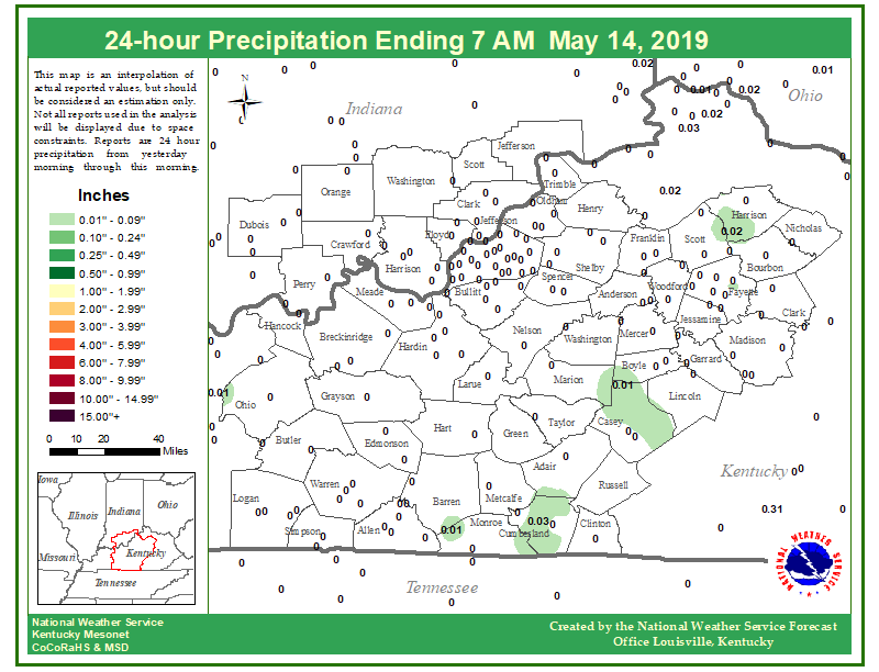 24 hour rainfall through Tuesday morning. #lmkwx #kywx #inwx