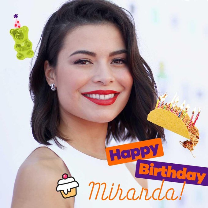 Happy 26th birthday to Miranda Cosgrove! Known for playing Megan Parker on Drake and Josh, and Carly Shay on iCarly!