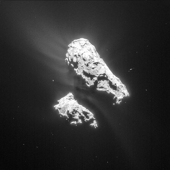 philae found! rosetta space science our activities esa - 700×700